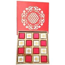 A Box of 16 pcs Tasty Handmade Chocolates