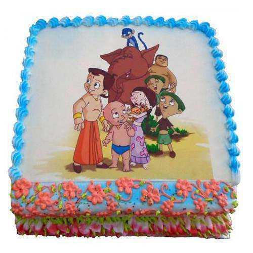 Amusing Temptation 2.5 Kg Chota Bheem Cake