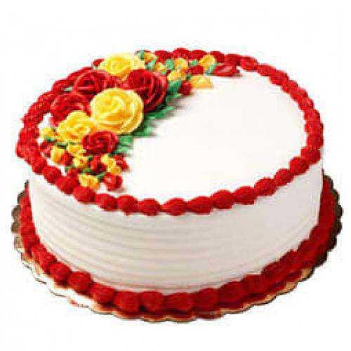 Luscious Vanilla Cake<br>