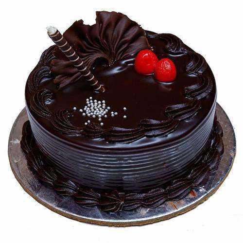Luscious Chocolaty Truffle Cake