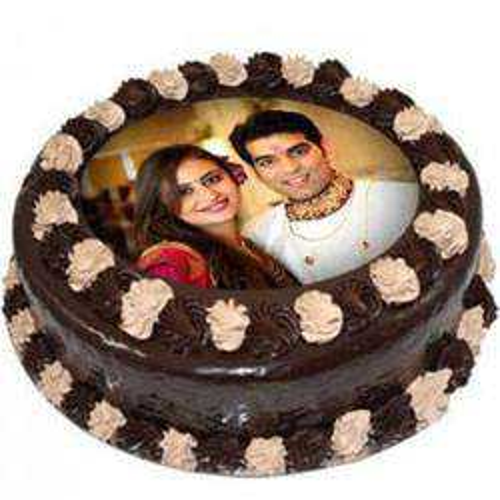 Indulgent Chocolate Photo Cake