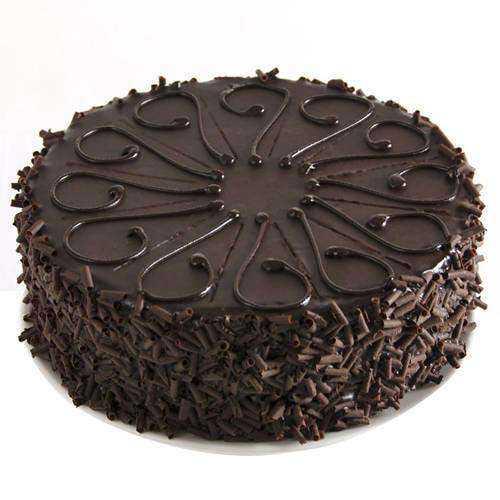 Birthday Party Luscious Eggless Chocolate Cake