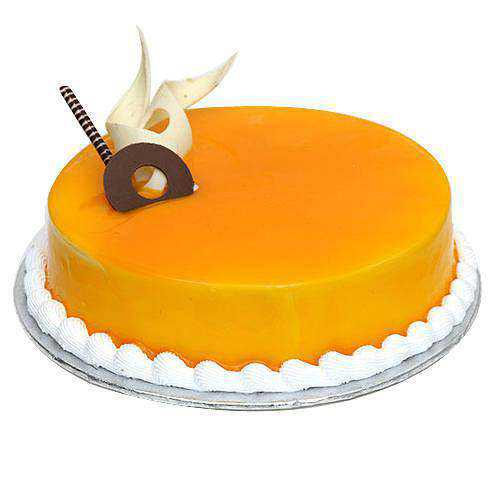 Lovingly Made Mango Flavour Cake