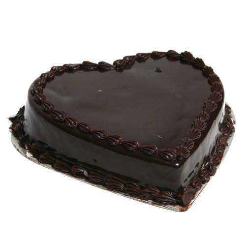 Tasty Chocolate Truffle Love Cake