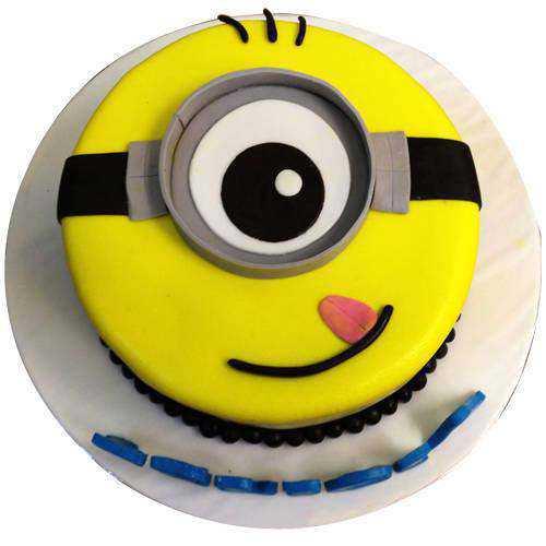 Beautifully-Design Minion Cake