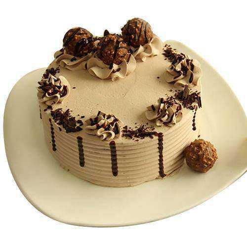 Exotic Ferrero Rocher Chocolate Cake