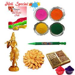 Play Holi with Lord Krishna Gift Hamper