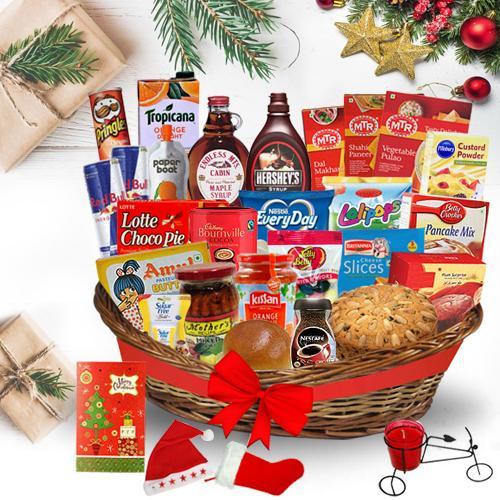 Fabulous Christmas Brunch Basket<br>