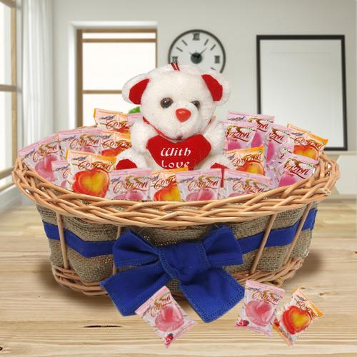 Suave Chocolates and Teddy Bear