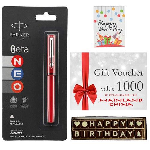 Fabulous Mainland China Gift Voucher worth Rs.1000 Gift Combo