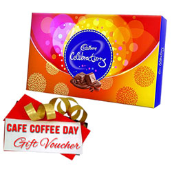 Fabulous Gift Pack of Cadbury Celebration and CCD Voucher