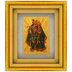 Beautiful Radha Krishna Photo Frame