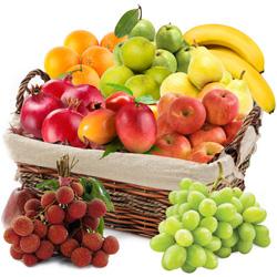 Savory Fresh Fruit Endeavor Basket
