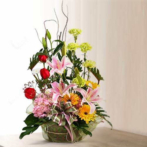 Beautiful Mixed Flowers Arrangement