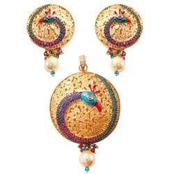 Remarkable Wedding Design Necklace Set