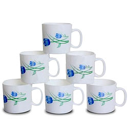 Coffee Delight with LaOpala Regular Coffee Mug Set
