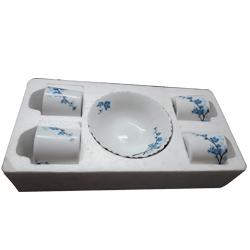 Ornate Tea Set by Larah, Borosil