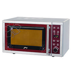 Health Food with Godrej GMX 20GA4 FKZ Microwave Oven
