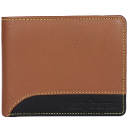 Gaudy Brown Coloured Gents Leather Wallet from Longhorn