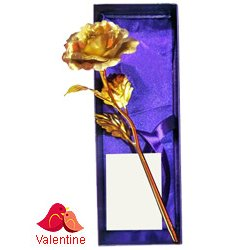 Special Love Golden Rose Stick