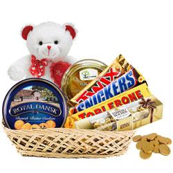 Ecstatic Chocolate Celebration Gift Basket<br>