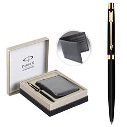 Glamorous Parker Metal Vector Pen and Wallet Gift Set
