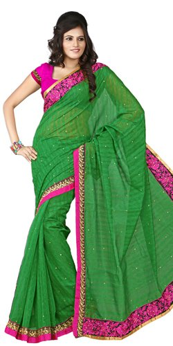 Relucent Fervor Silk Saree