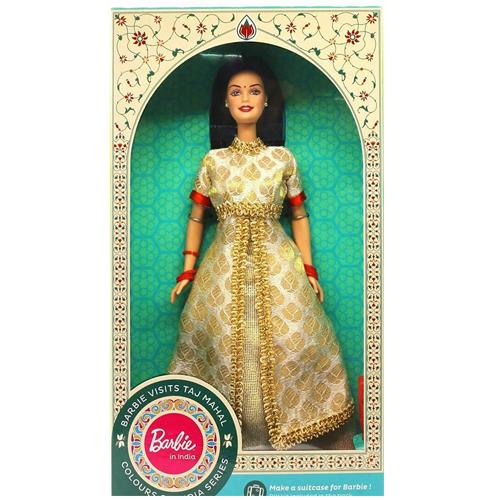 Barbie Doll in India (Visits Ajanta Caves)