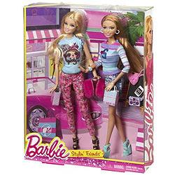 Amazing Barbie Fab Life Stylin Friends Set