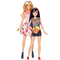 Gorgeous Pair of Barbie N Skipper Doll Set for Little Princess