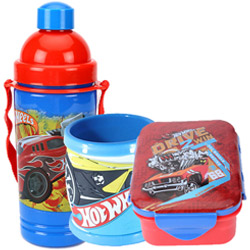 Beautiful Kids Essential Hot Wheels Tiffin Set