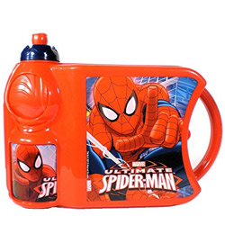 Impressive Kids Delight Spider Man Tiffin Set