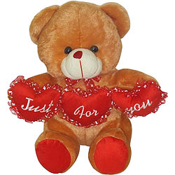 Marvelous Looking Tri Heart Bear