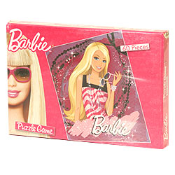 Barbie Puzzle Game