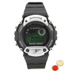 Smart Looking Titan Sonata Branded Digital Watch for Kids with free Roli Tilak and Chawal