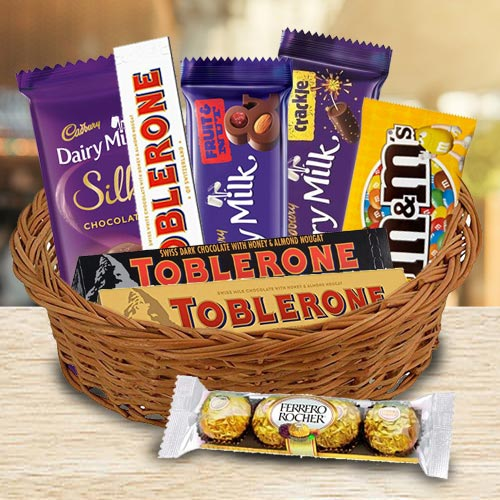 Amazing Chocolate Gifts Basket