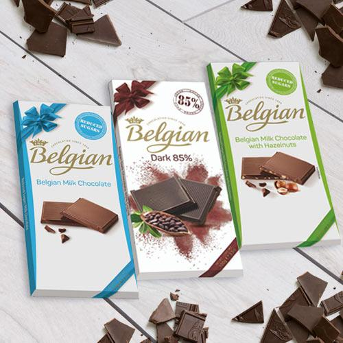 Delicious Belgian Chocolate Delight