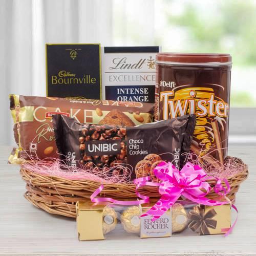 Wonderful Chocolate Gift Basket