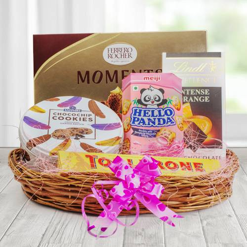 Delicious Chocolate Gift Basket