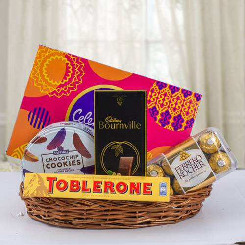 Yummy Chocos Gift Basket
