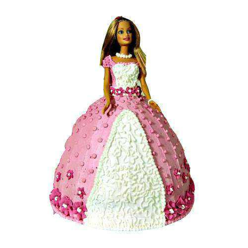 Amazing Barbie Doll Cake