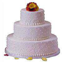 Sumptuous Three Tier Cake