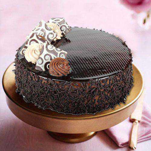 Tempting Choco Truffle Cake