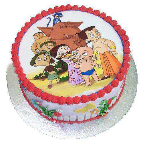 Delectable Chota Bheem Cake