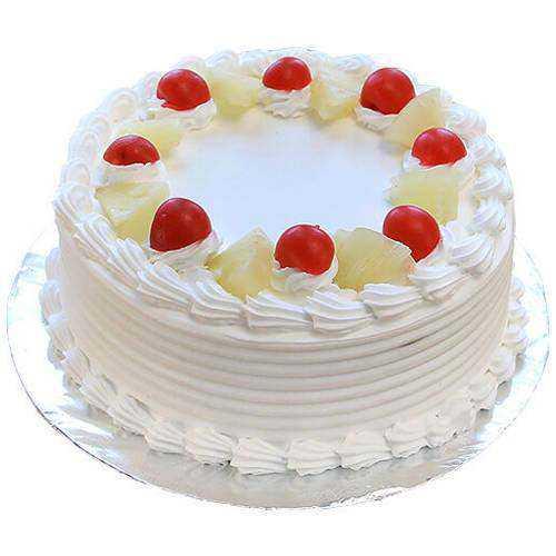 Elegant Vanilla Cake
