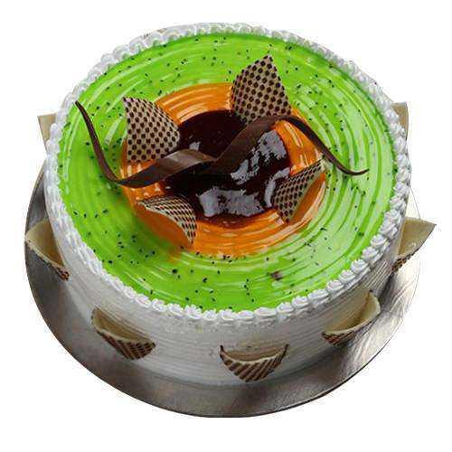 Enticing Kiwi Cake