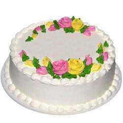 Sumptuous Eggless Vanilla Cake