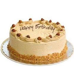 Yummy Eggless Coffee Cake for Birthday
