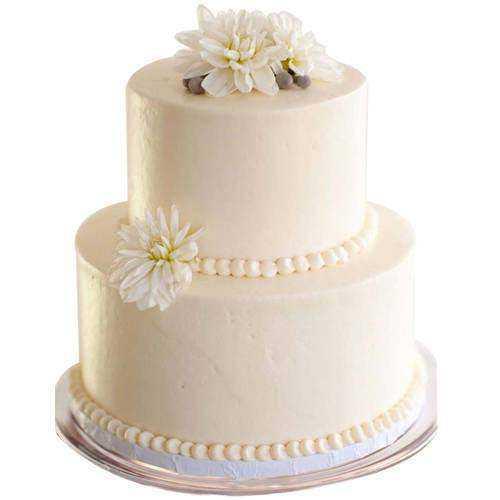 Gorgeous 2 Tier Wedding Cake
