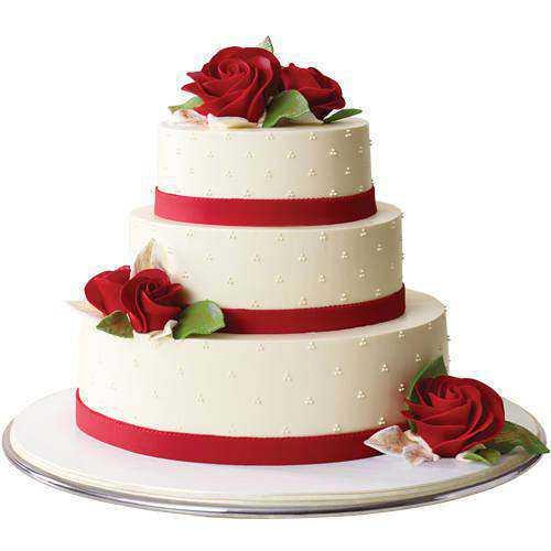 Special 3 Tier Wedding Cake